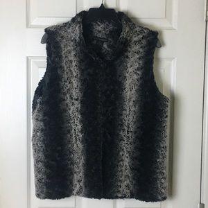 Grace Elements faux fur vest